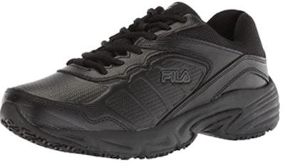 Fila Memory Runtronic Slip-Resistant Work Shoe