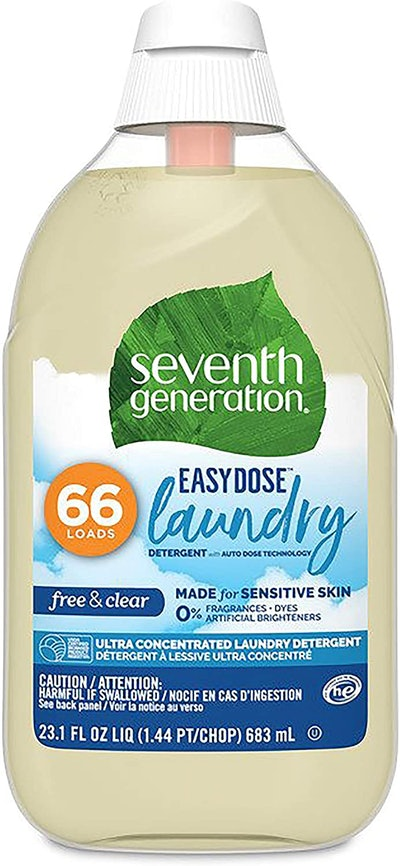 Seventh Generation Easy Dose Free & Clear Laundry Detergent, 23 Oz.