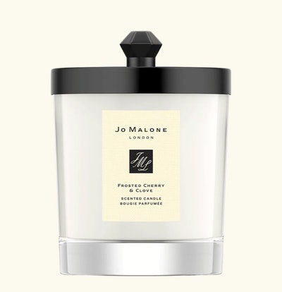 Limited-Edition Frosted Cherry & Clove Home Candle