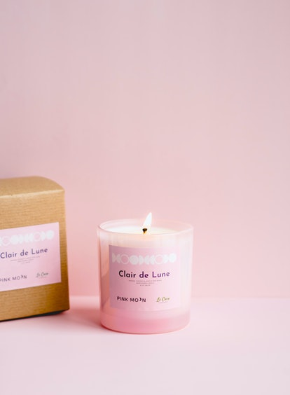 Pink Moon's candle has a wax that can double as body oil.