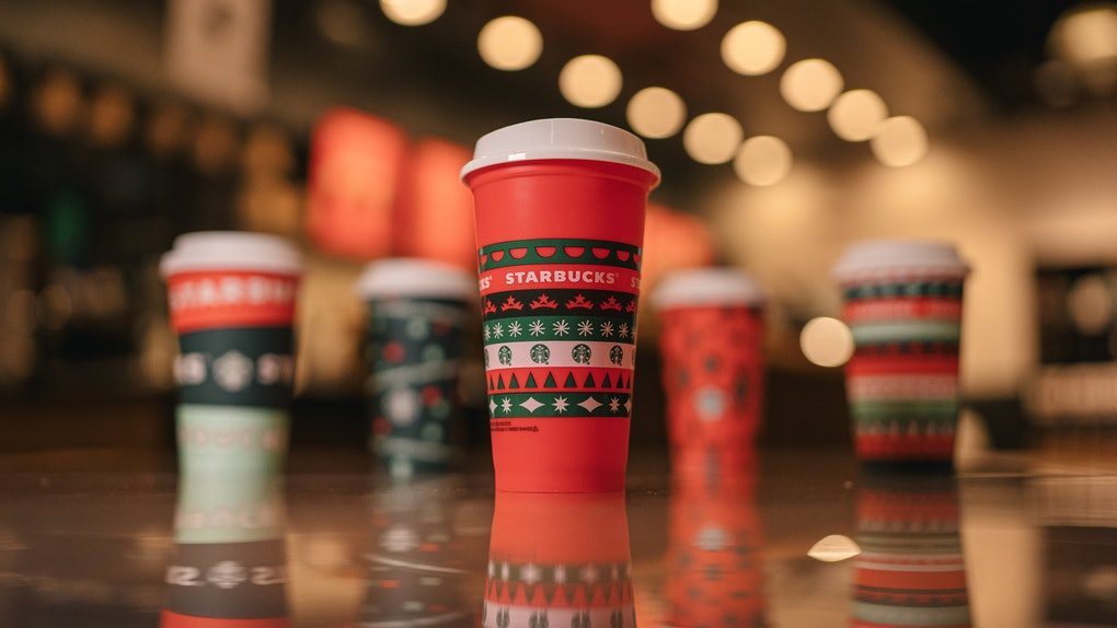 Starbucks' reusable red cup is back, but the holiday deal is a little different.