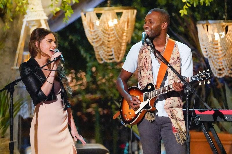 'Bachelor: Listen To Your Heart' winners Bri Stauss and Chris Watson perform on 'The Bachelorette' via ABC Press Site