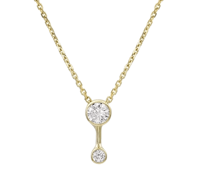 Duo Diamond Necklace