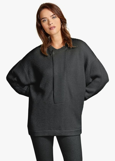 Henley Tunic Sweater