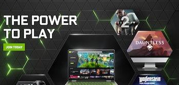Fortnite GeForce Now screenshot