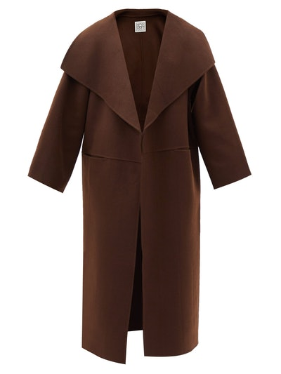Annecy Double-Faced Wool-Blend Coat