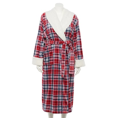 Sonoma Goods For Life Plus Size Plush Long Robe