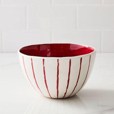 Festive Stripe Bowl (Set of 4)
