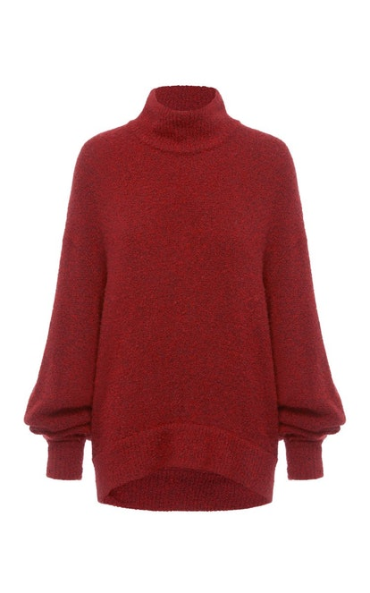 Selby Oversized Cashmere-Blend Turtleneck Sweater