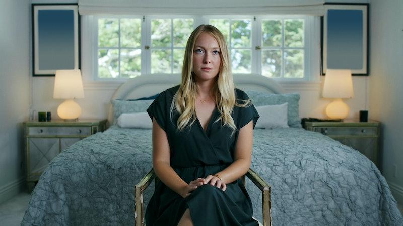 India Oxenberg speaks in Starz's 'Seduced,' via Starz press site.