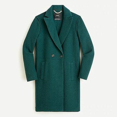 Daphne topcoat in Italian boiled wool