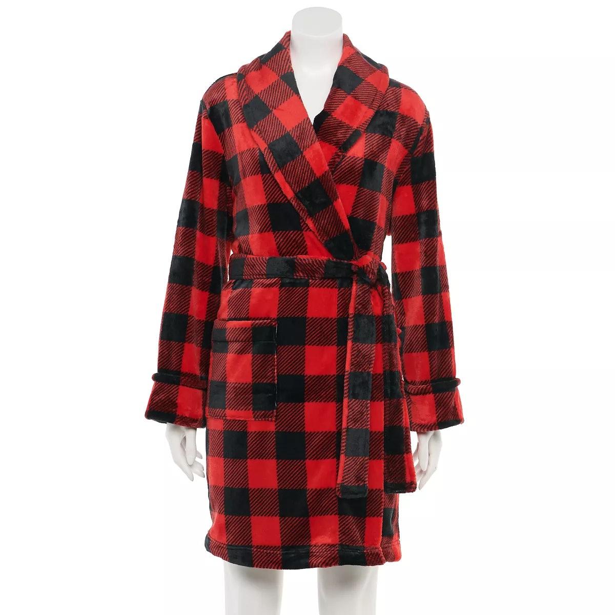 Sonoma Goods For Life Women's Plush Robe