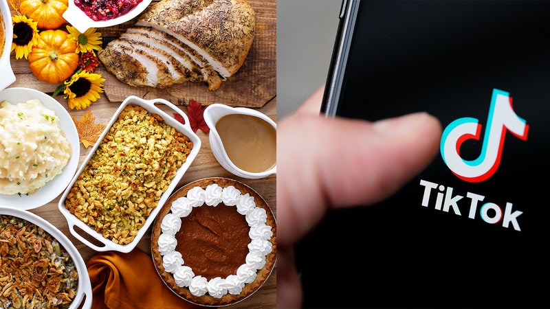 Turkey, mashed potatoes, and more Thanksgiving recipes from TikTok.