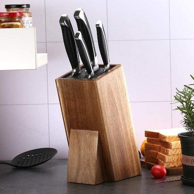 Universal Acacia Wood Knife Holder