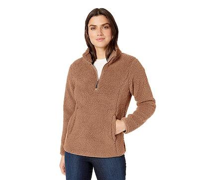 Amazon Essentials Fleece-Lined Sherpa Sweatshirt