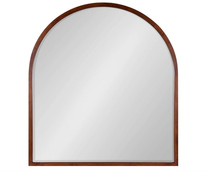 McLean Mid-Century Modern Arched Framed Wall Mirror