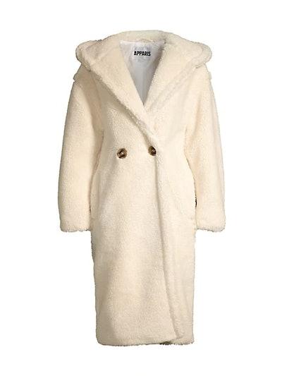 Mia Hooded Longline Coat