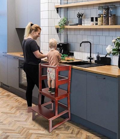 WishaLife Kids Kitchen Step Stool