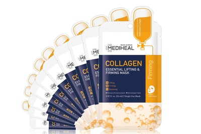 MEDIHEAL Collagen Essential Lifting & Firming Mask (10-Pack)