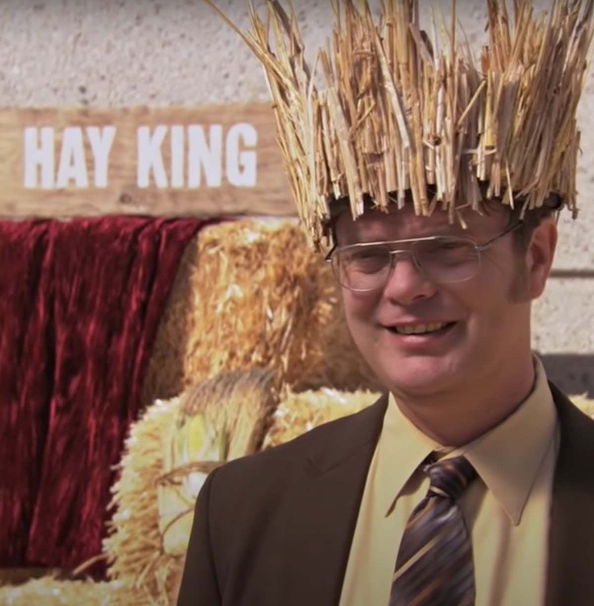 Plan a date this Thanksgiving inspired by Dwight's Hay King festival.