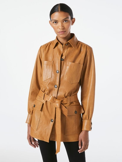 Safari Leather Jacket