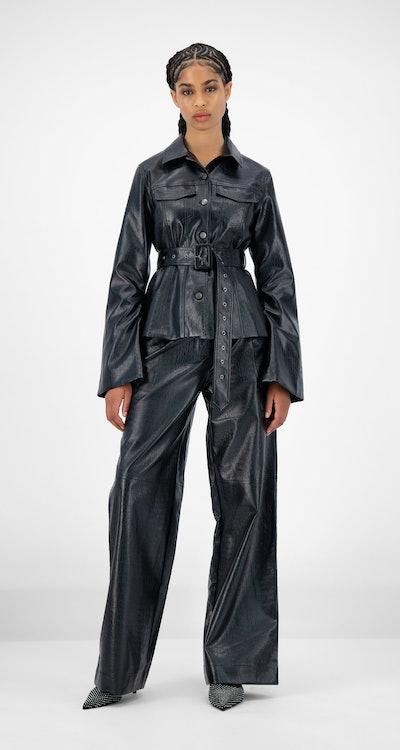 Black Croci Jalet Jacket