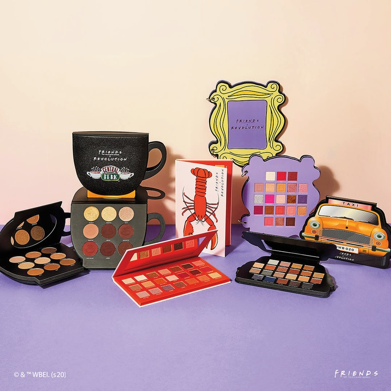 Makeup Revolution's second 'Friends' collection includes both makeup and body products