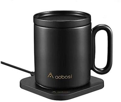 AAOBOSI Mug Warmer And Wireless Charger