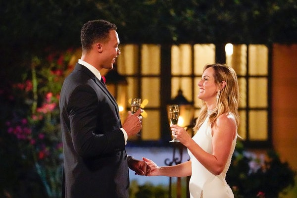 Dale Moss and Clare Crawley on The Bachelorette