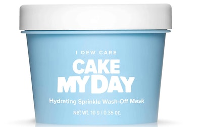 I DEW CARE Cake My Day Hydrating Sprinkle Wash-Off Facial Mask (3.52 Oz.)