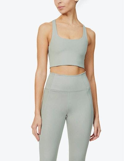Paloma stretch-jersey sports bra
