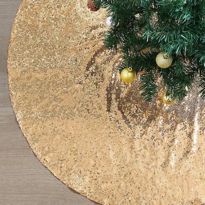 QueenDream Christmas Tree Skirt