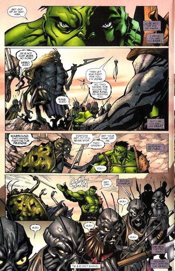 world war hulk thor love and thunder