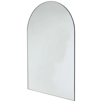 Arcus Arch Shaped Modern Contemporary Versatile Frameless Mirror
