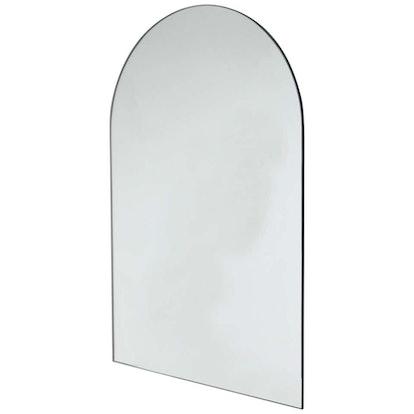 Arcus Arch Shaped Modern Contemporary Versatile Frameless Mirror