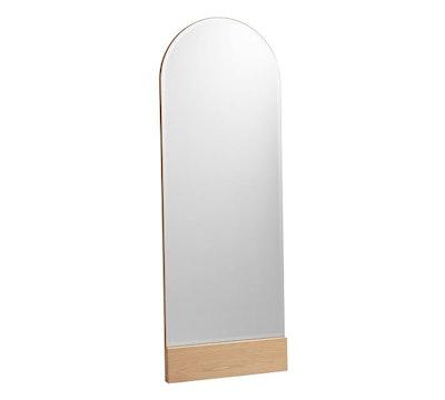 Temescal White Oak Floor Mirror