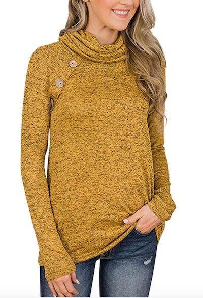 Unidear High Neck Sweatshirt