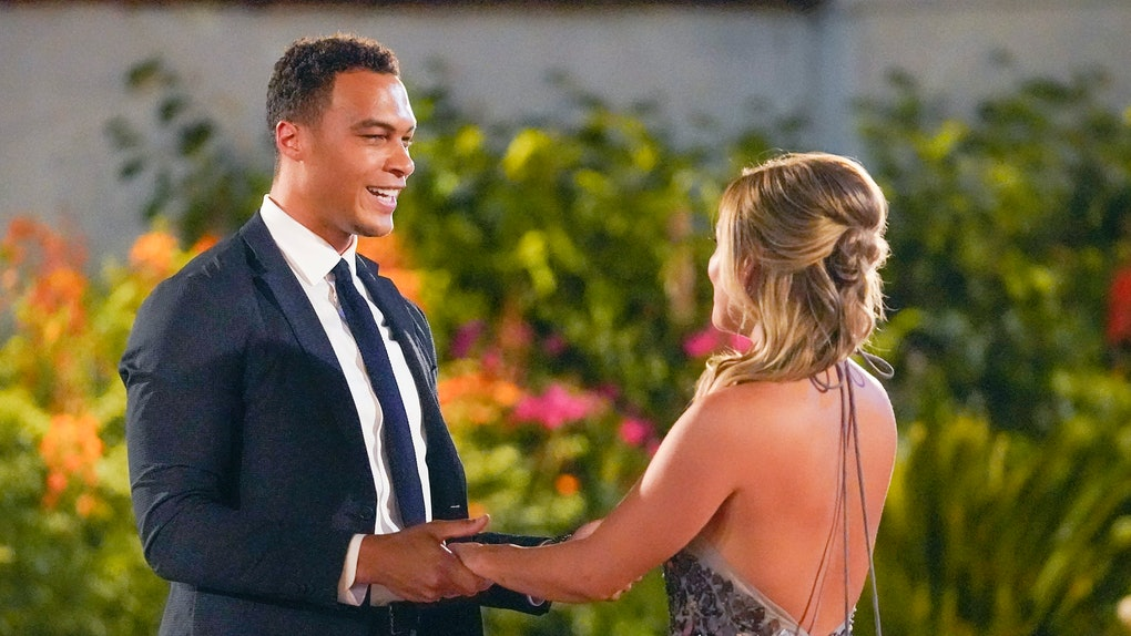 Dale Moss with Clare Crawley on 'The Bachelorette'