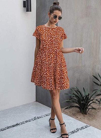 KIRUNDO Ruffled Mini Dress