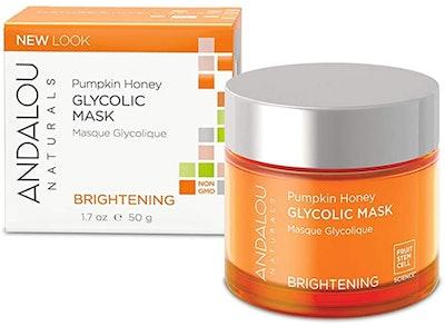 Andalou Naturals Pumpkin Honey Glycolic Exfoliating Mask (1.7 Oz.)