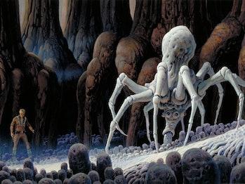mandalorian star wars spiders krykna