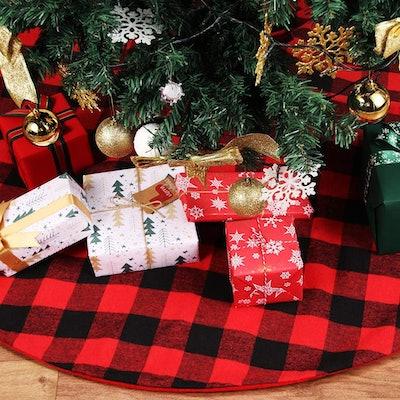 YIZCO Christmas Tree Skirt