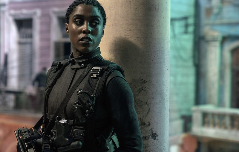 Lashana Lynch in James Bond No Time To Die