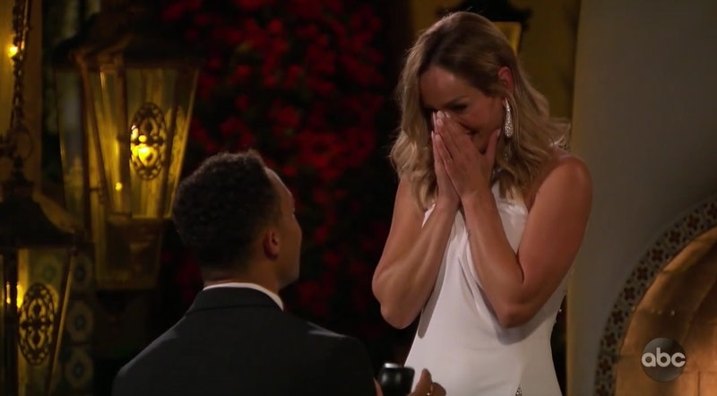 Clare Crawley and her fiancé Dale Moss get engaged on 'The Bachelorette'