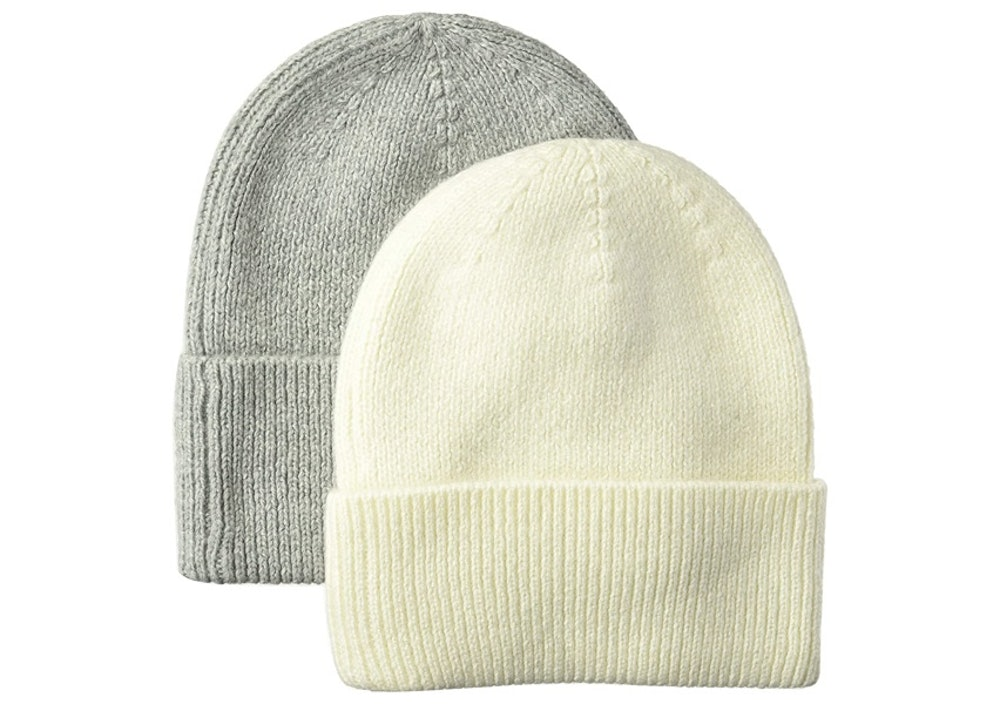 Amazon Essentials Knit Beanies (2-Pack)