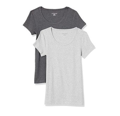 Amazon Essentials Cap-Sleeve T-shirts (2-pack)