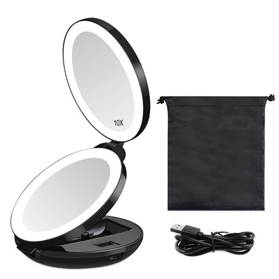 KEDSUM Rechargeable Travel Mirror
