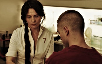 Juliette Binoche is the film's villainous doctor.