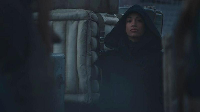 Sasha Banks' character in 'The Mandalorian' Seasno 2