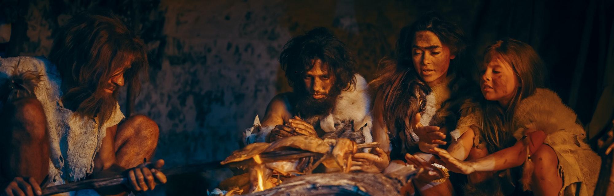 Neanderthal babies.